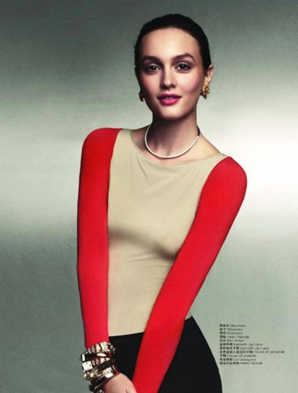 513 Leighton Meester za L'Officiel China