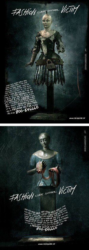 83 10 najšokantnijih kampanja protiv anoreksije