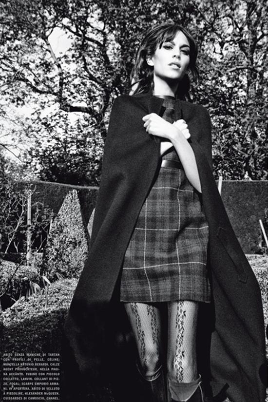 85 Alexa Chung za Vogue Italia