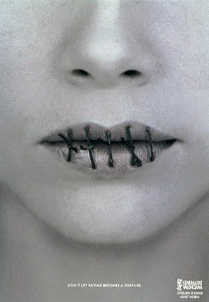 93 10 najšokantnijih kampanja protiv anoreksije