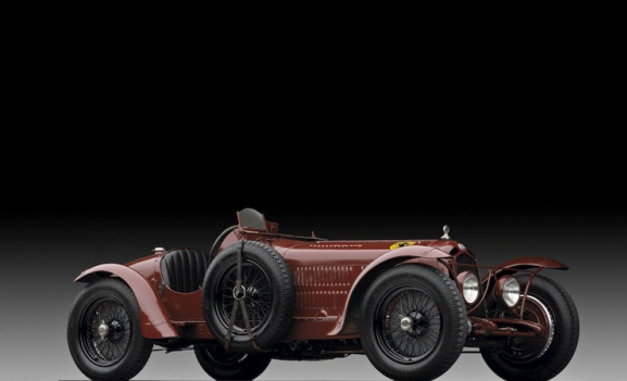 Alfa Romeo 8C 2300 Monza Ralph Lauren kolekcija automobila