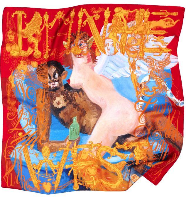 Kanye West Limited Edition Scarves 1 Kanye West & M/M (Paris) kolekcija marama