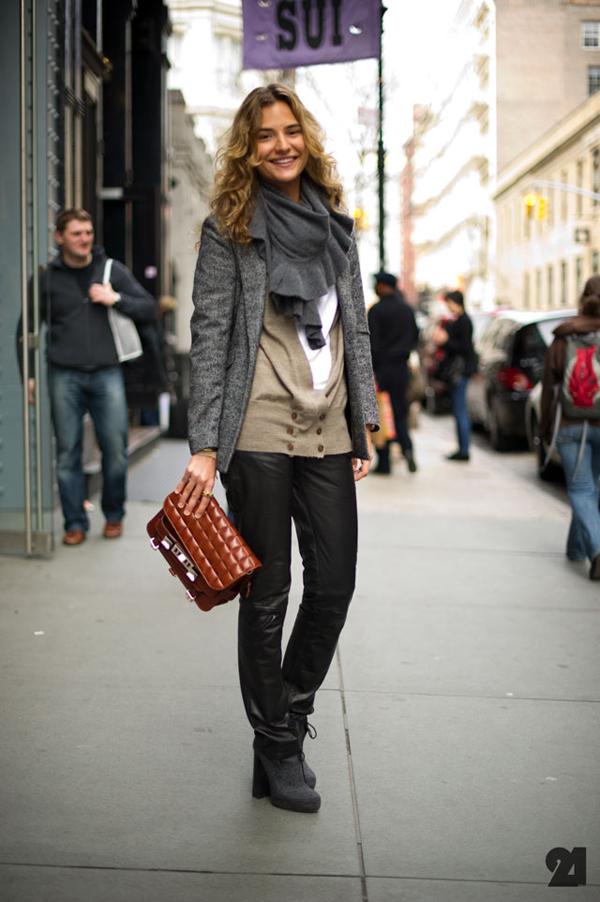 Le 21ème Arrondissement Mija Knezevic Mij A Porter SoHo New York Street Style Fashion Blog 1 Devojka za primer: Mija Knežević
