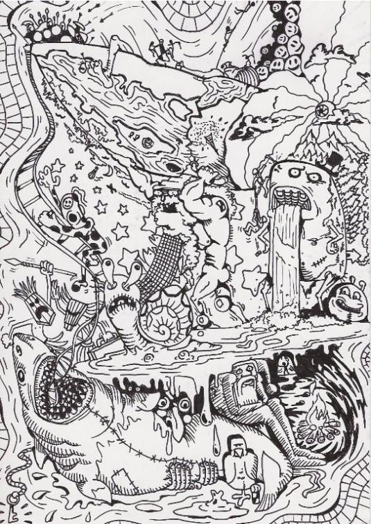 Mateja Mahovic I žvrljanje je umetnost
