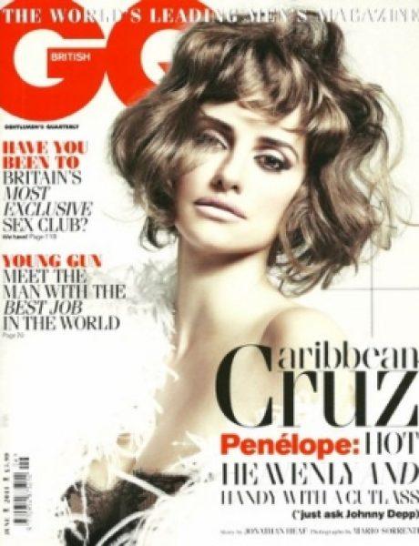 """Penelope Cruz za """"GQ UK"""" jun 2011."""
