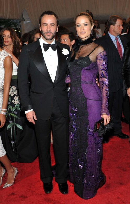 Tom Ford and Carolyn Murphy nova Crveni tepih: MET Ball 2011