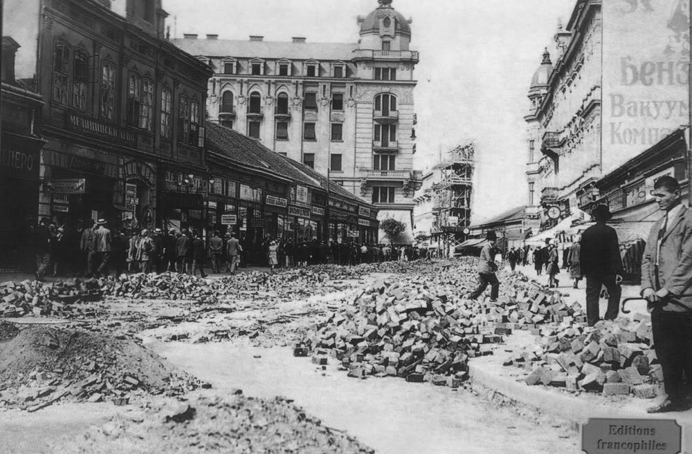 UlicaKnezaMihaila1927god Zdravo, ja sam Beograd: Knez Mihailova ulica