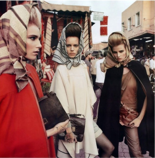 Vogue 4 Prolećni trend: Turban