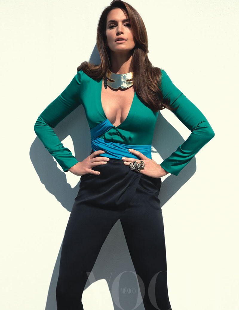 cindy crawford6 Cindy Crawford za Vogue Mexico