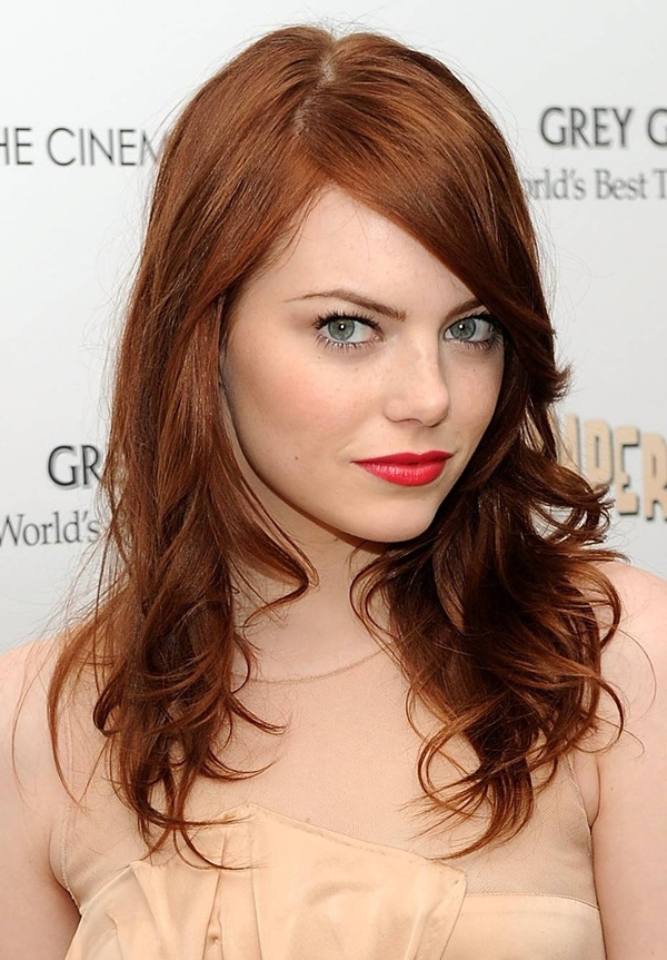 emma stone red hair Vatra u kosi