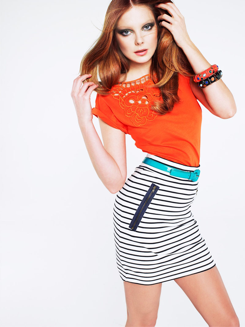 enikomango2 Mango Color & Stripes Lookbook