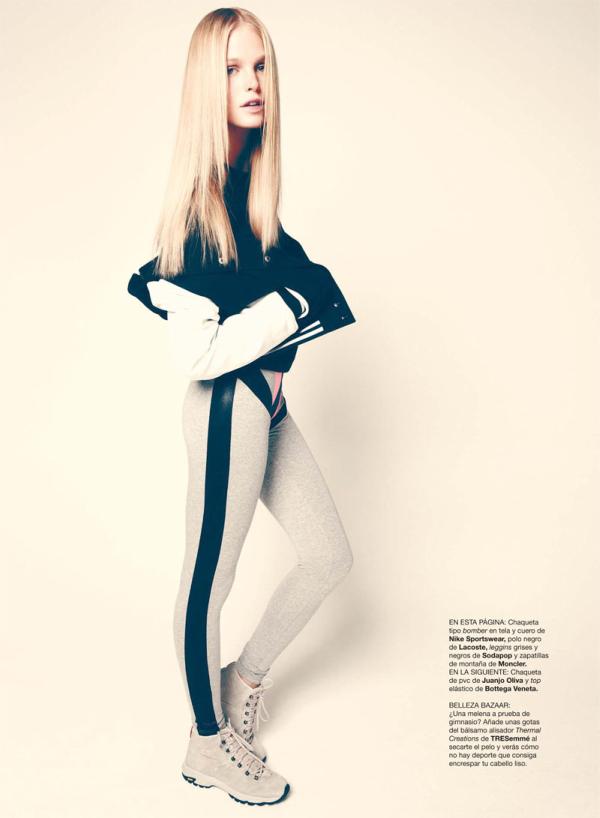 erin heatherton3 Erin Heatherton za Harper's Bazaar Spain jun 2011.