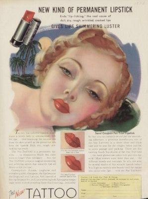 glamourdaze 1930s lipstick3 Mala istorija ruža za usne