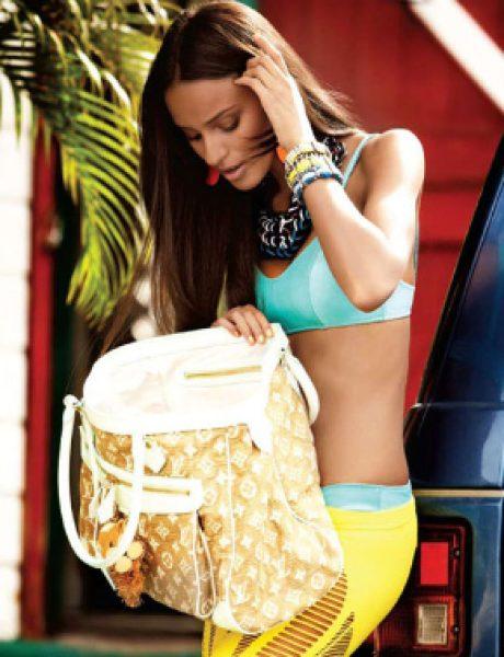 """Gracie Carvalho za magazin """"Flare"""" jun 2011."""