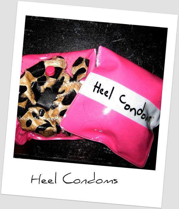 heel condoms 11 Mojim cipelama treba kondom?!