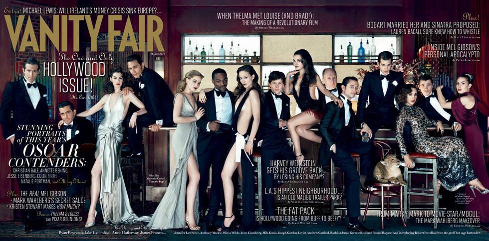hollywood issues Taj neprikosnoveni Vanity Fair