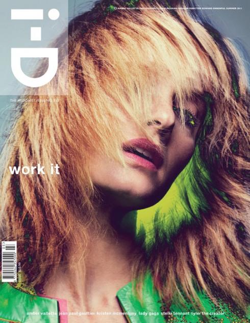 i d summer 2011 amber valetta by craig mcdean styled edward enninful Šest naslovnih strana magazina i D leto 2011.