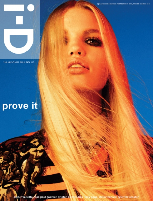 i d summer 2011 daphne groeneveld by daniel jackson styled marie chaix Šest naslovnih strana magazina i D leto 2011.