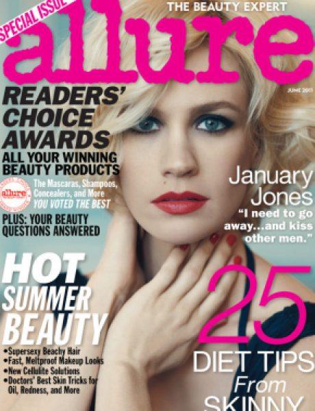 "January Jones za ""Allure"" magazin"