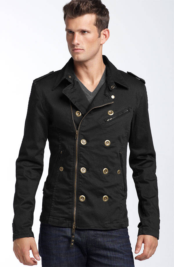 jedidah commander double breasted jacket Are U for Military? Again?