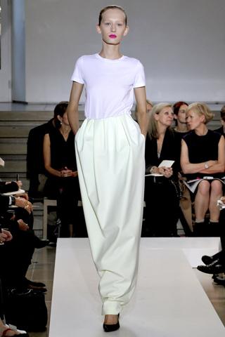 jil sander 1 Prolećni trend: Duge haljine i suknje
