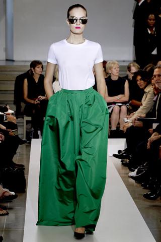 jil sander 3 Prolećni trend: Duge haljine i suknje