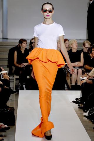jil sander 4 Prolećni trend: Duge haljine i suknje