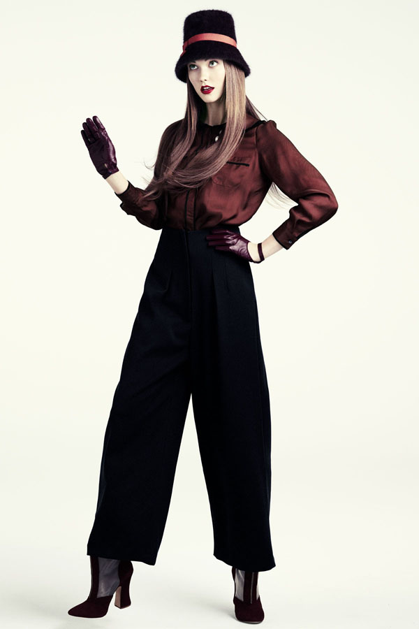karlie hm2 Lookbook H&M za jesen 2011.