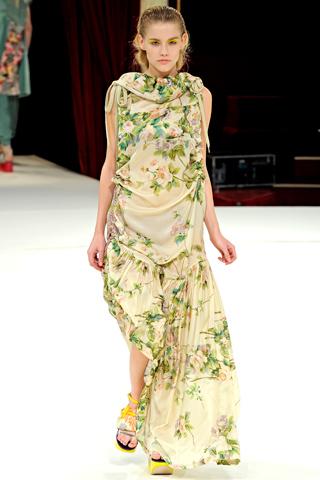 kenzo 2011 5 Prolećni trend: Duge haljine i suknje