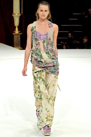 kenzo 2011 8 Prolećni trend: Duge haljine i suknje