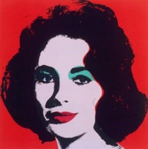 liz taylor ritratta da andy warhol 25957 297x300 Otac pop arta: Andy Warhol