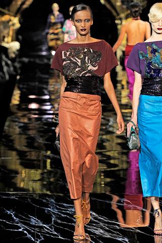 louis vuitton 101 Prolećni trend: Duge haljine i suknje