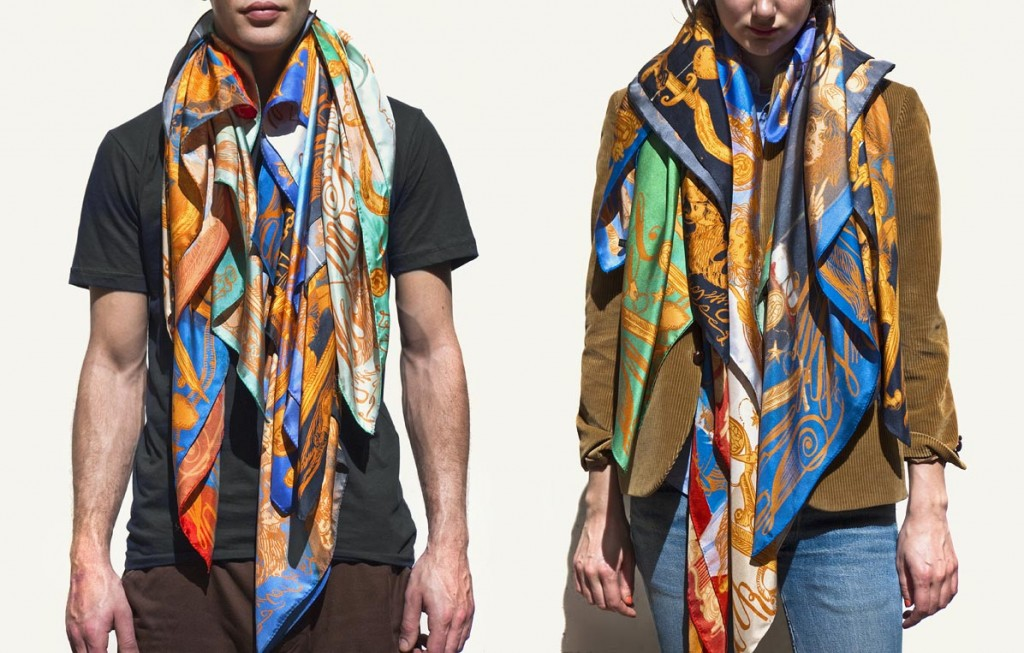 mm kwscarves all 1024x653 Kanye West & M/M (Paris) kolekcija marama