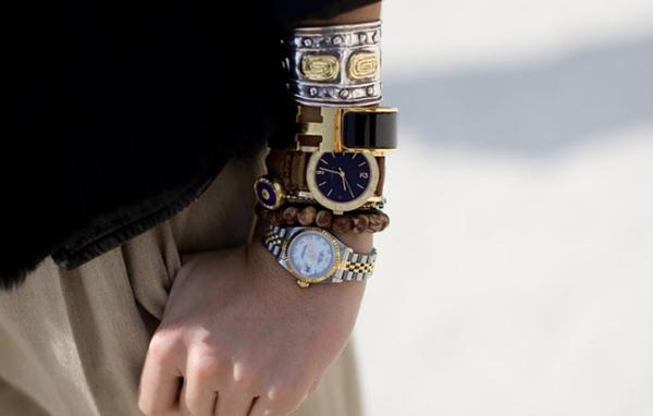 multiple watches Modni detalj: Sat