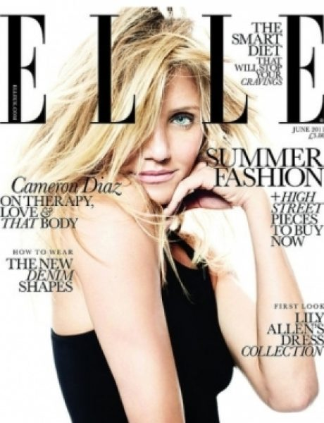 "Cameron Diaz za ""Elle UK"" jun 2011."