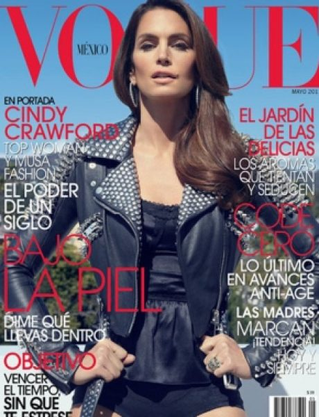 "Cindy Crawford za ""Vogue Mexico"""