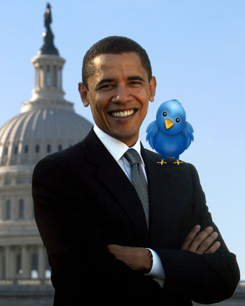 obama twitter I'm Your Biggest Fan, I'll Follow You Until You Love Me!