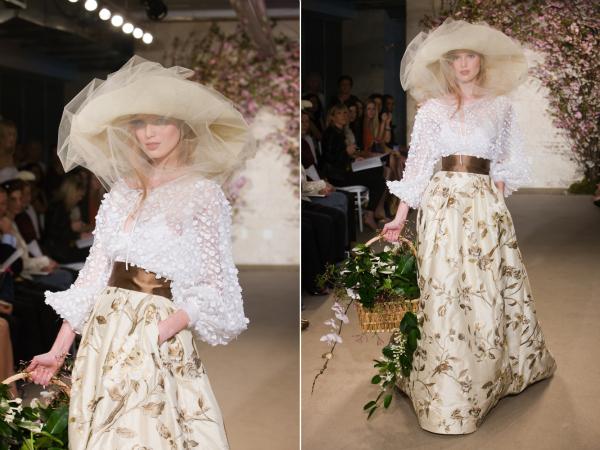 oscar de la renta61 picnik New York Bridal Week Spring 2012: Oscar de la Renta