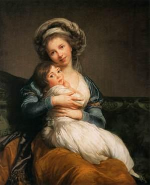 slika32 Elizabet Viže le Bren: odiseja umetnice u doba Revolucije