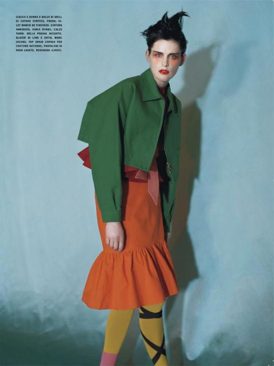stella9 Blocking the trend editorijal Vogue Italia