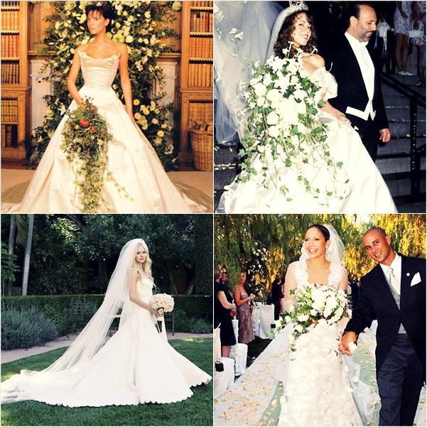 120 Famous Wedding = Vera Wang?
