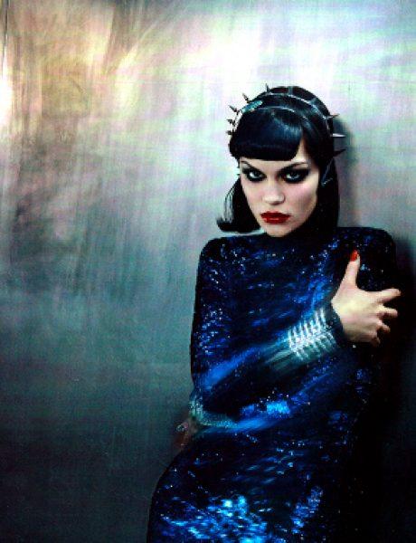 """Jessie J za """"Vogue Italia"""" jun 2011."""
