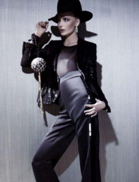 """Snejana Onopka za """"Vogue Japan"""" jul 2011."""