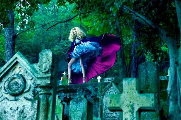 13a Baldovino Barani: morbidnost modne fotografije
