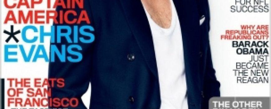 """Chris Evans za """"GQ"""" jul 2011."""