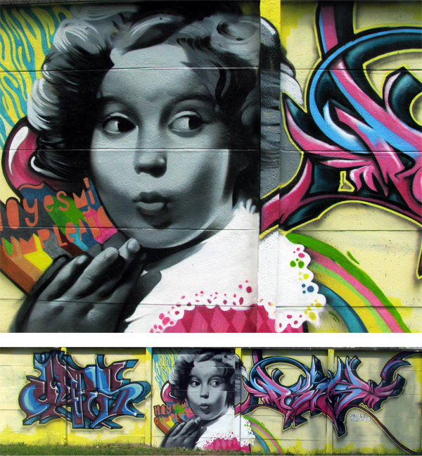 158 Wannabe street art: Grafiti iz Novog Sada