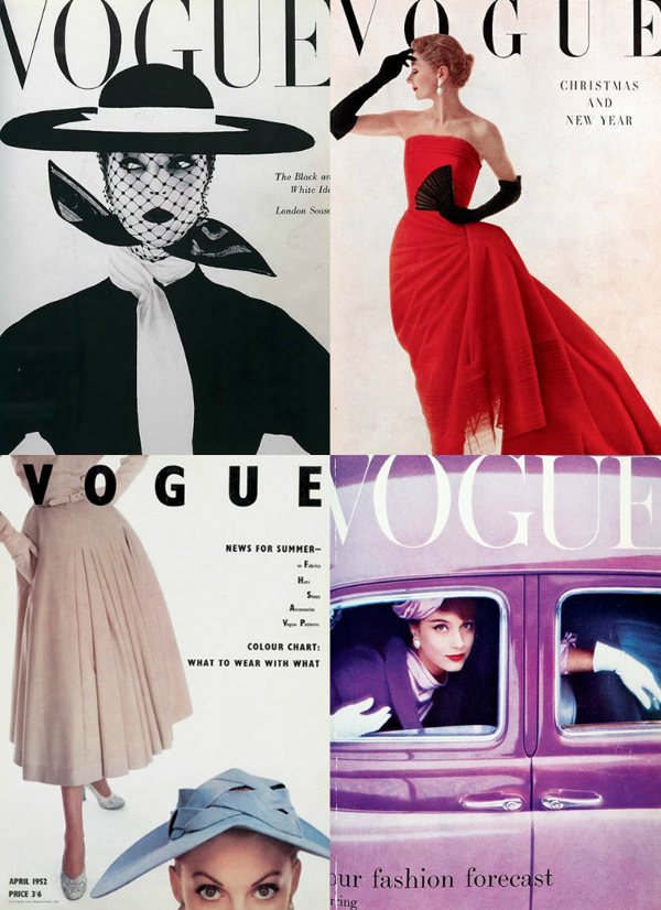 1950s Istorija mode kroz Vogue
