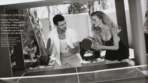 237 Lara Stone i Justin Timberlake za Vanity Fair jul 2011.
