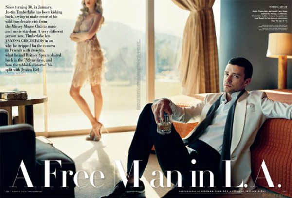327 Lara Stone i Justin Timberlake za Vanity Fair jul 2011.