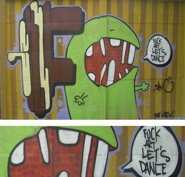 814 Wannabe street art: Grafiti iz Novog Sada